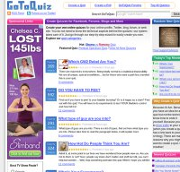 gotoquiz.com screenshot
