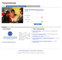 governmentjobs.com screenshot