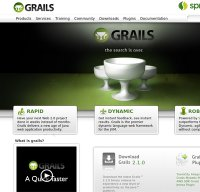 grails.org screenshot