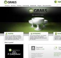 grails.org screenshot