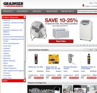 grainger.com screenshot