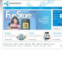 grameenphone.com screenshot