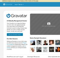 gravatar.com screenshot