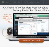 gravityforms.com screenshot