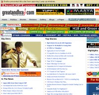 greatandhra.com screenshot