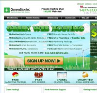greengeeks.com screenshot