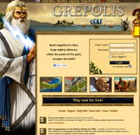 grepolis.com screenshot