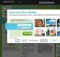 groupon.co.uk screenshot
