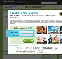 groupon.com.au screenshot