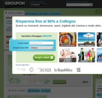 groupon.it screenshot