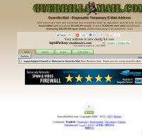guerrillamail.com screenshot
