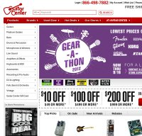 guitarcenter.com screenshot