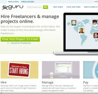 guru.com screenshot