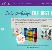 hallmark.com screenshot