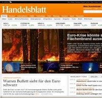 handelsblatt.com screenshot
