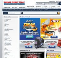 harborfreight.com screenshot
