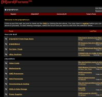 hardforum.com screenshot