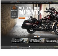 harley-davidson.com screenshot