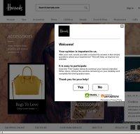 harrods.com screenshot
