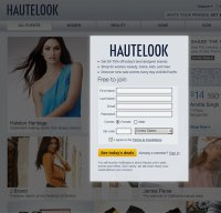 hautelook.com screenshot