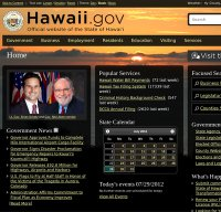 hawaii.gov screenshot