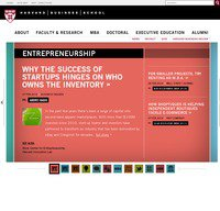 hbs.edu screenshot