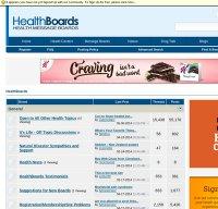 healthboards.com screenshot