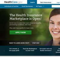healthcare.gov screenshot
