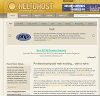 heliohost.org screenshot