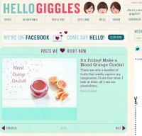 hellogiggles.com screenshot