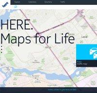 here.com screenshot