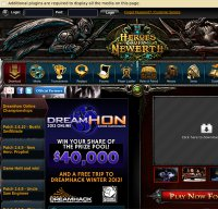 heroesofnewerth.com screenshot