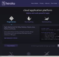 heroku.com screenshot