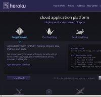 heroku.com screenshot