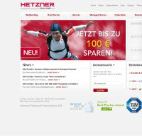 hetzner.de screenshot