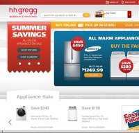 hhgregg.com screenshot