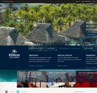 hilton.com screenshot