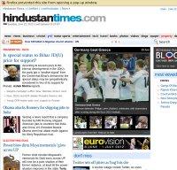 hindustantimes.com screenshot