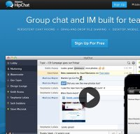 hipchat.com screenshot