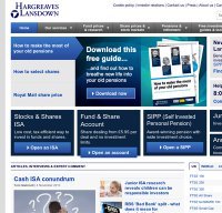 hl.co.uk screenshot