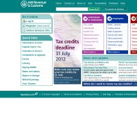 hmrc.gov.uk screenshot