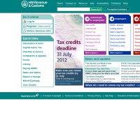 hmrc.gov.uk screenshot