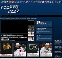 hockeybuzz.com screenshot