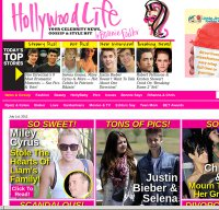 hollywoodlife.com screenshot