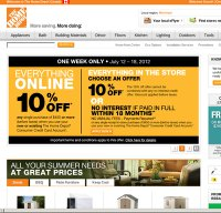 homedepot.ca screenshot