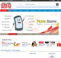 homeshop18.com screenshot