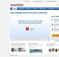 homestead.com screenshot