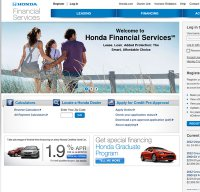 hondafinancialservices.com screenshot