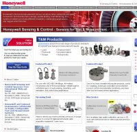 honeywell.com screenshot