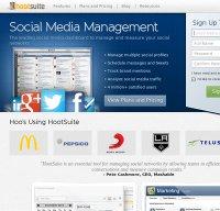 hootsuite.com screenshot